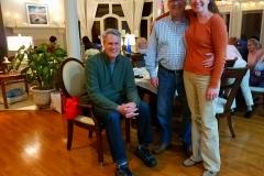 Mit Alex Byers und Darren Norwood