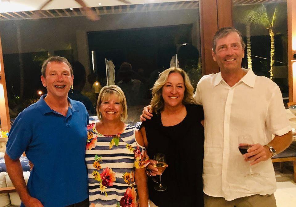 Monte Gartner, Pam McConnell, Sandy Howell, and Hans Vanden Noort