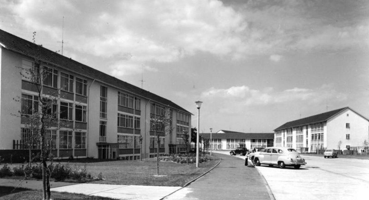 Hicog-Siedlung in Plittersdorf, 1952