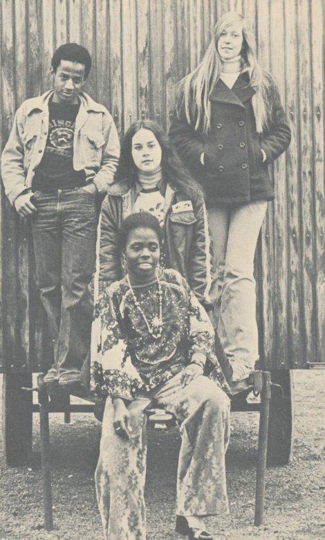 Kenneth Dube, Elizabeth Eromobar, Elizabeth Fairbank, Christine Evans