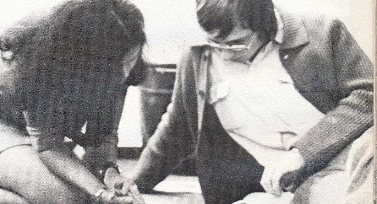 Leilani Hendenon and Jürgen Knees